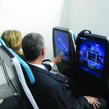 Los asientos se reconvierten en pantallas