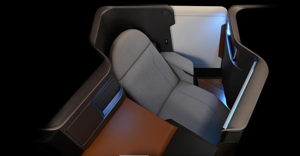 Los asientos multimedia del futuro