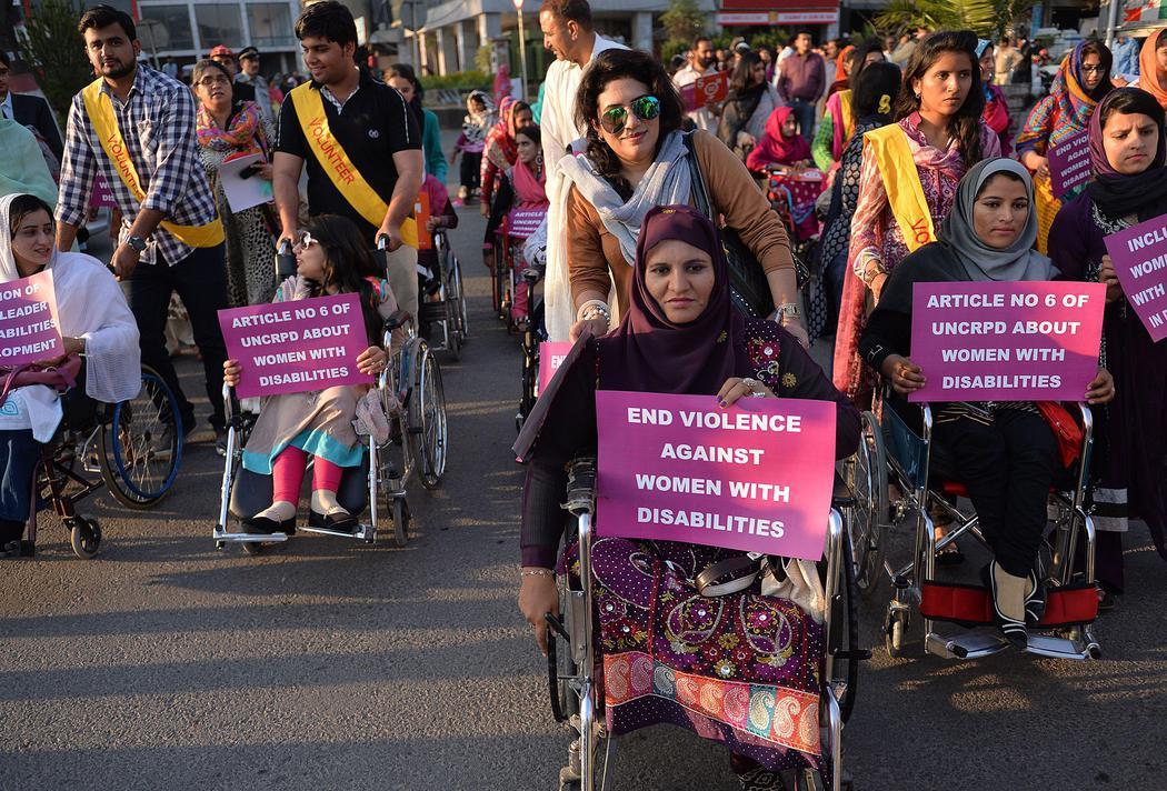 Mujeres discapacitadas de Pakistán defienden sus derechos