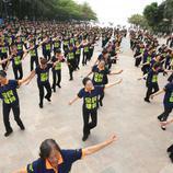 Bailes de celebración en China