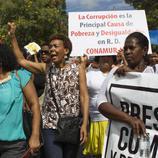 Manifestación en Santo Domingo (República Dominicana)