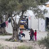 Así es el campo de refugiados de Moria