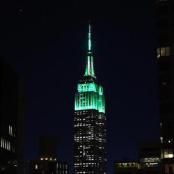 Las ciudades se vuelven verdes en el día de San Patricio