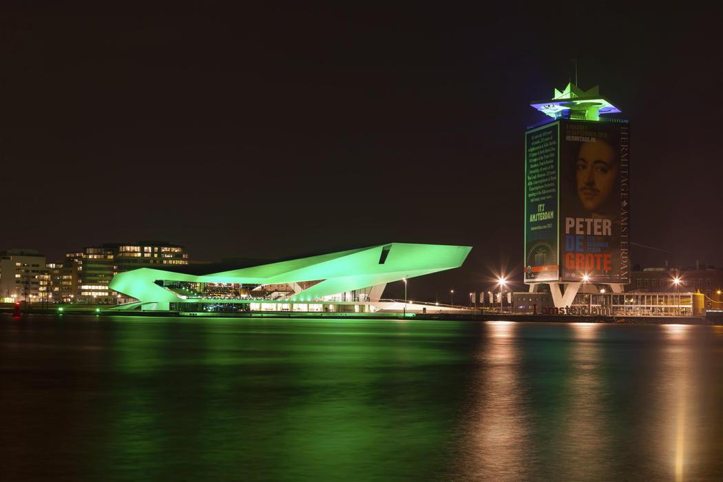 El EYE Film Institut se vuelve verde (Ámsterdam)