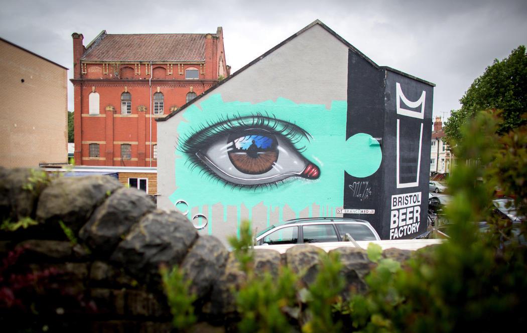 Los ojos del arte urbano se fijan en Bristol