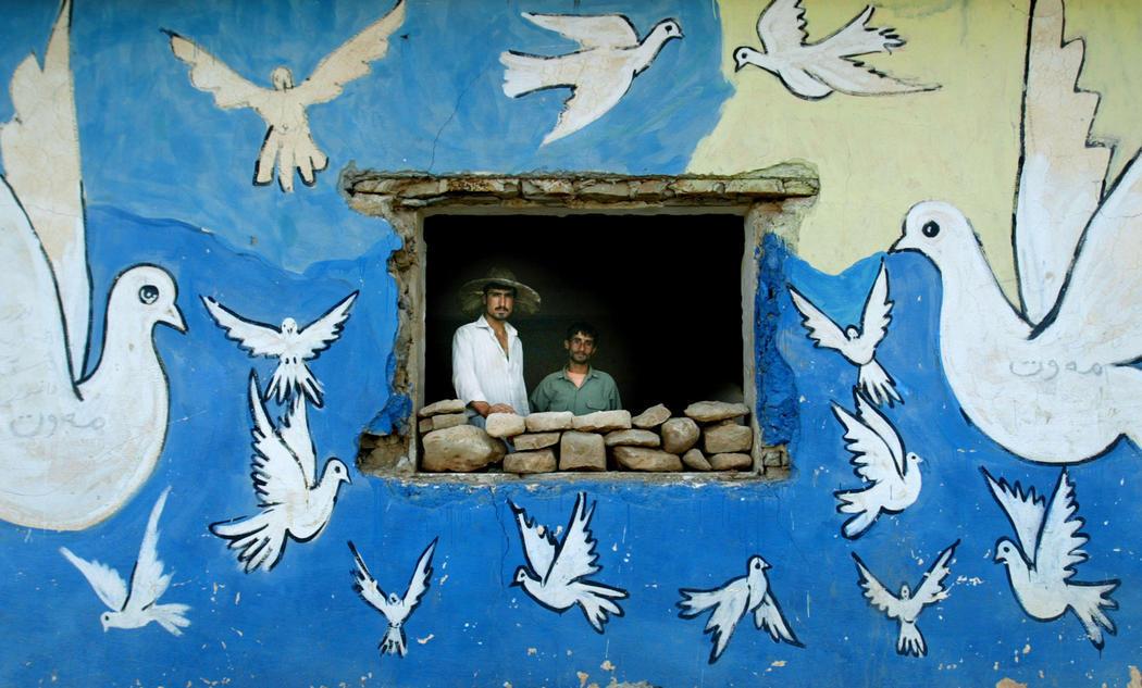 La paz recorre las fachadas de Irak