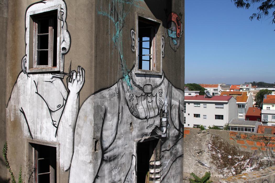 Edificios abandonados con mucha vida