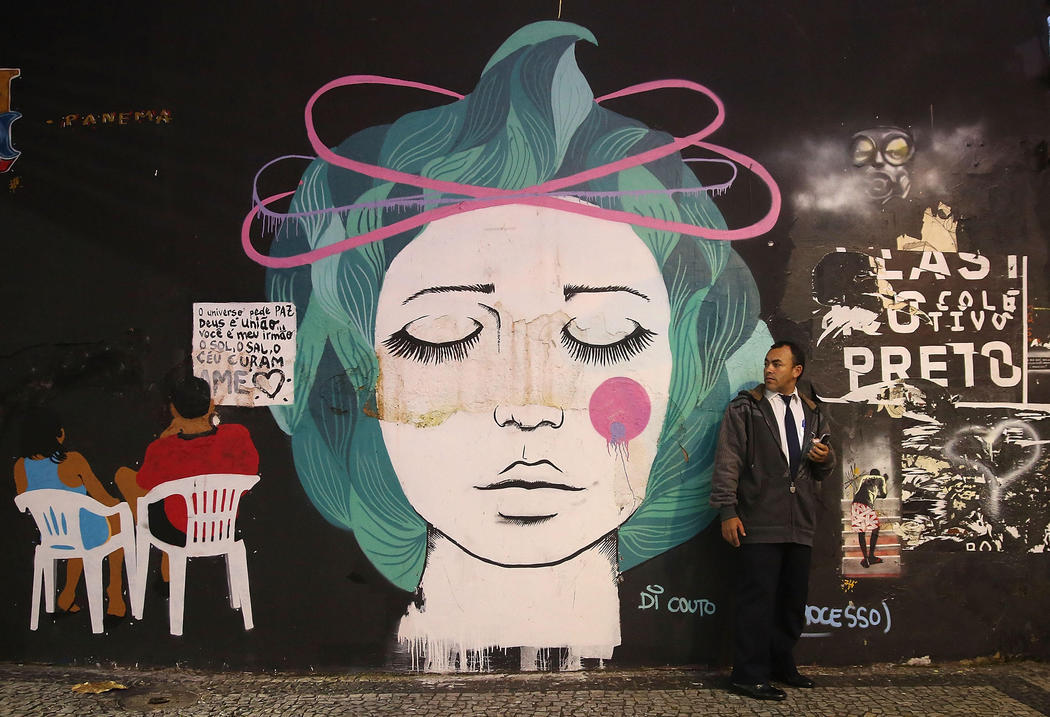 Obras de arte en plena calle