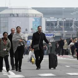 Así se está viviendo el caos de los atentados de Bruselas