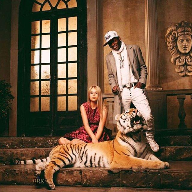 Un tigre de mascota. ¿Por qué no?