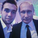 De fiesta con Putin