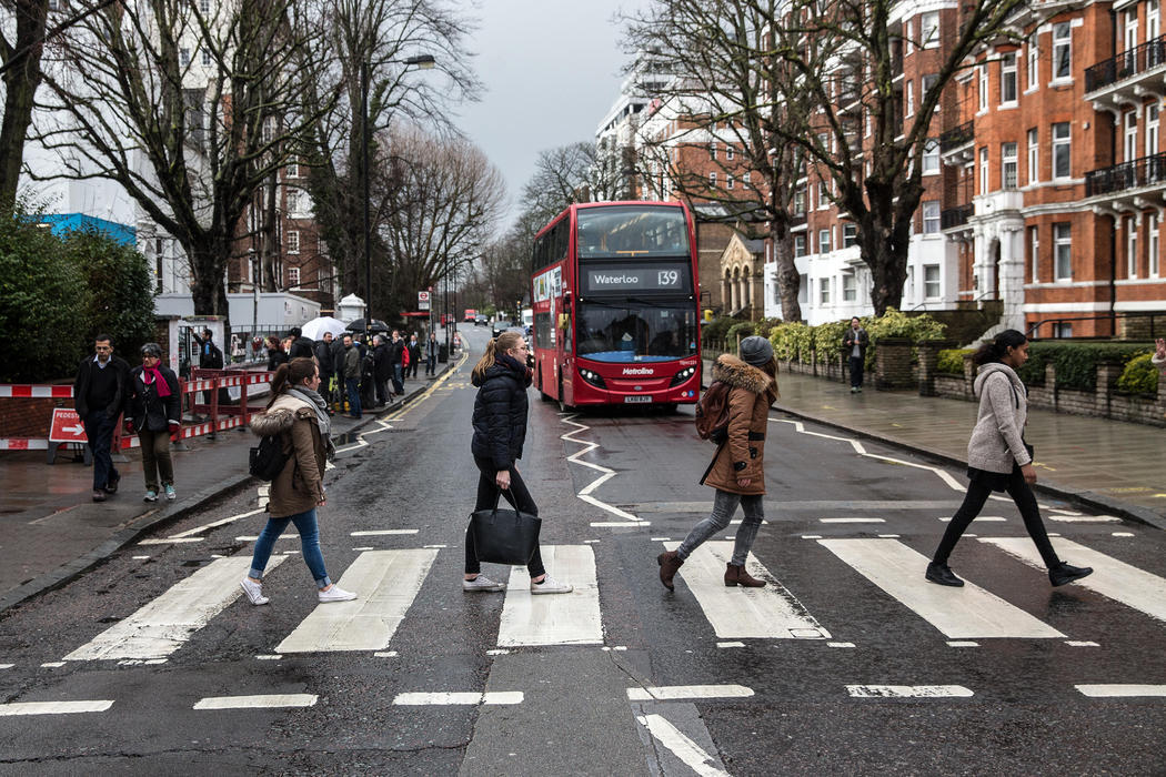 Siéntete un Beatle en Abbey Road