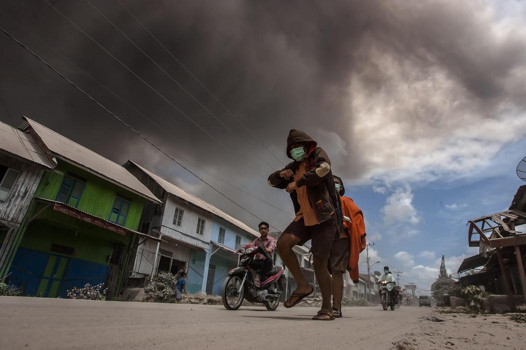 La segunda erupción de 2016