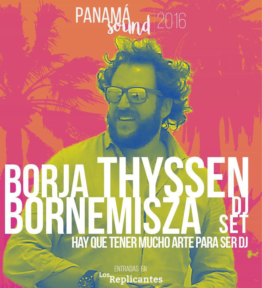 Borja Thyssen Bornemisza le da el sí a la primera edición de Panamá Sound