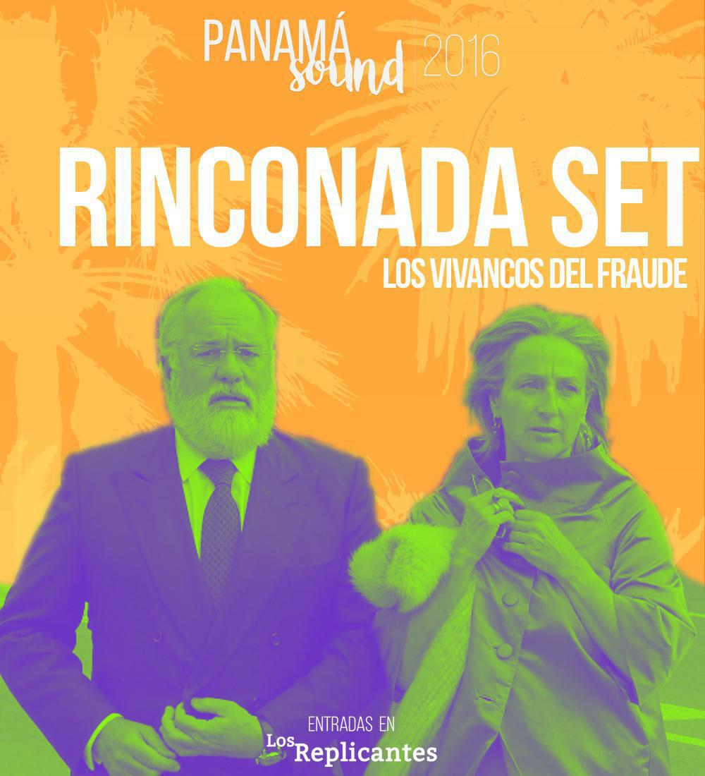 Rinconada, los Vivancos del fraude aterrizan en Panamá Sound