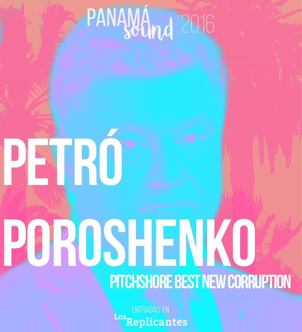 Petró Poroshenko confirma como 'Best New Corruption' en Panamá Sound