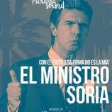 El ministro Soria firma por la primera edición de Panamá Sound