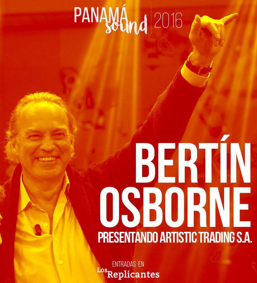 Bertín Osborne, de su casa a la primera edición de Panamá Sound