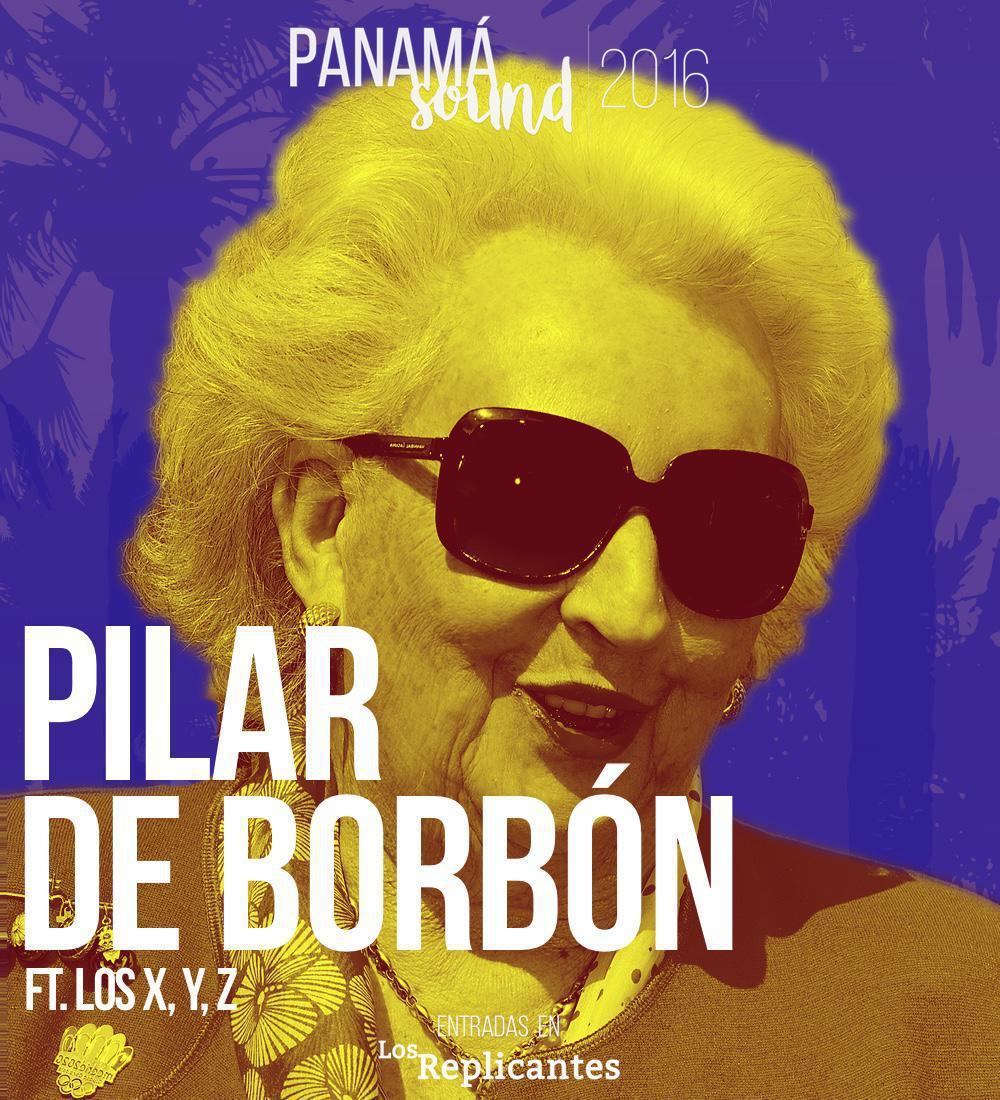 Pilar de Borbón ft. X,Y,Z estarán en Panamá Sound