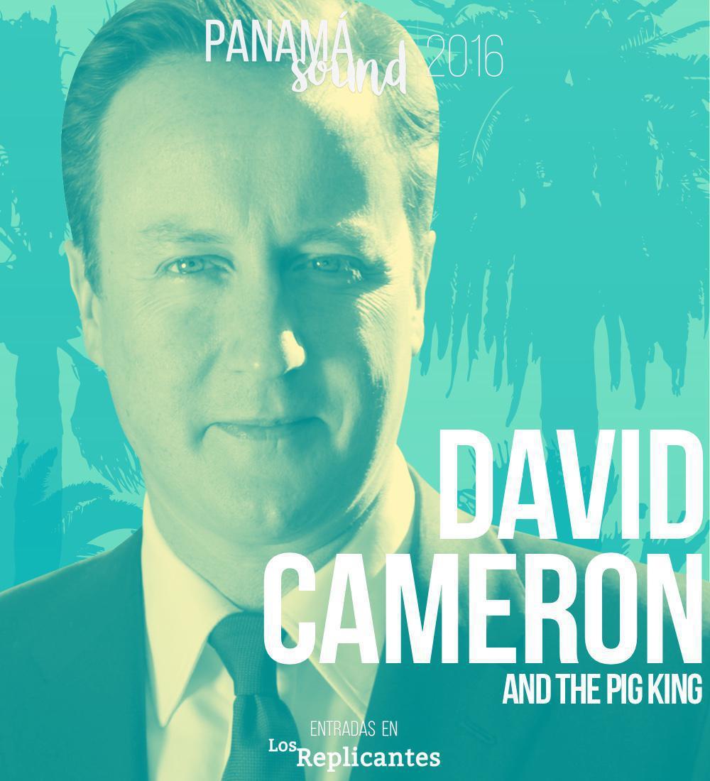 David Cameron, confirmado en Panamá Sound