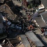 Casas destruidas en Mashiki