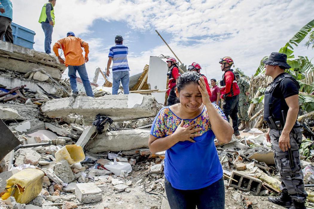 Desolación en Pedernales