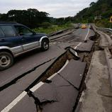 Carreteras destruidas en Chone
