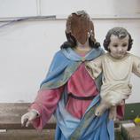 Jesús destrozado en El Carmen