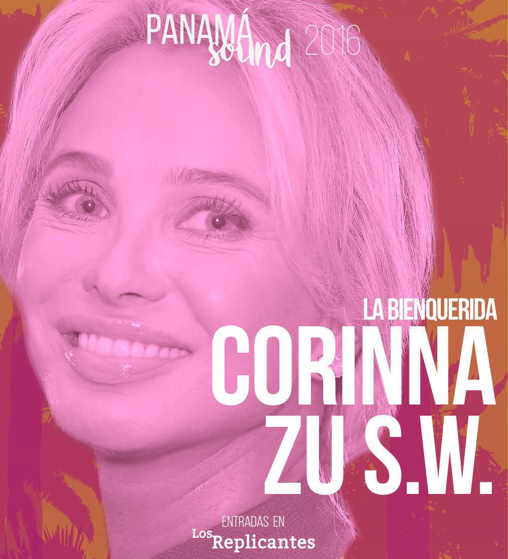 La princesa Corinna, presencia real en Panamá Sound