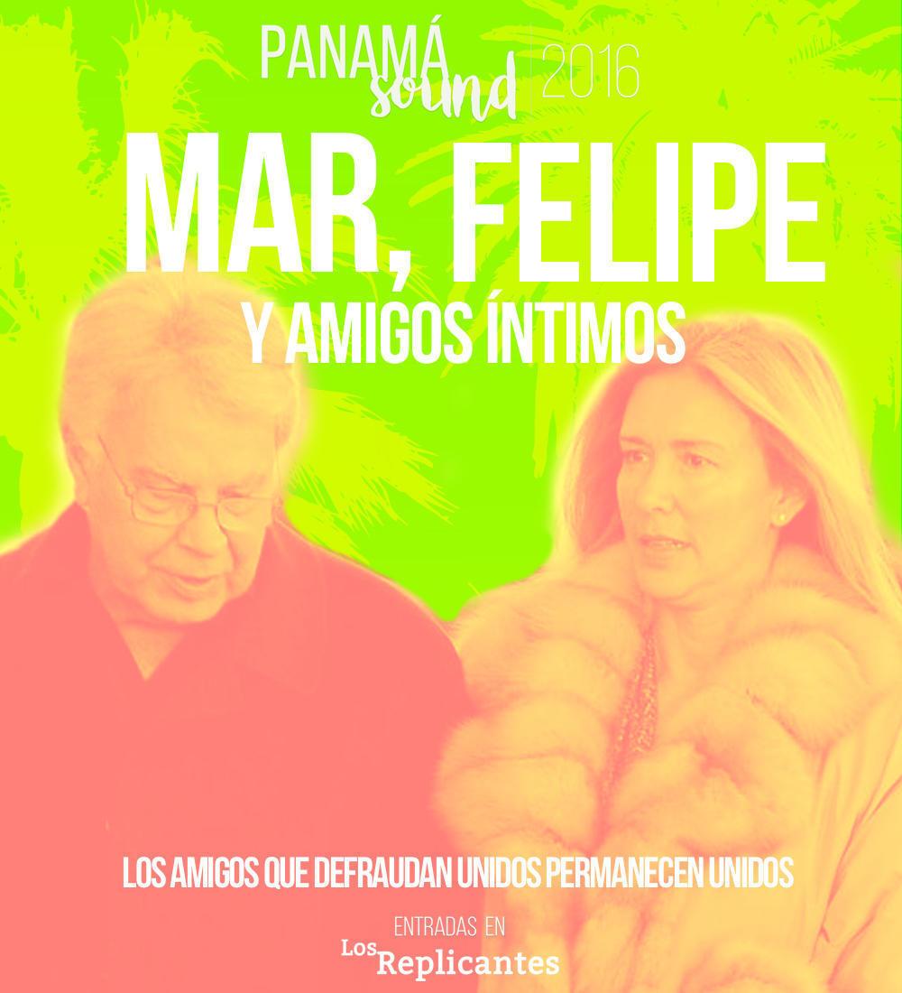 Mar, Felipe y amigos se reúnen para la primera edición de Panamá Sound