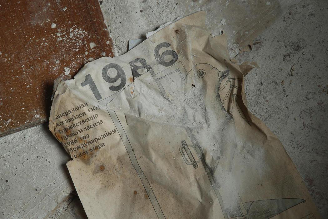 1986, el año del desastre nuclear