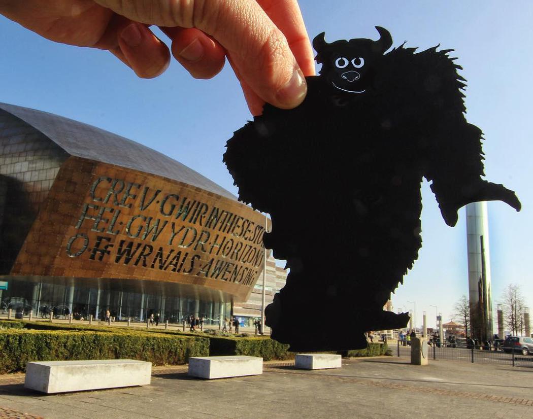 Un monstruo en Cardiff