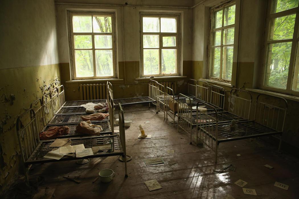 La guardería de Kopachi abandonada 30 años después de la catástrofe