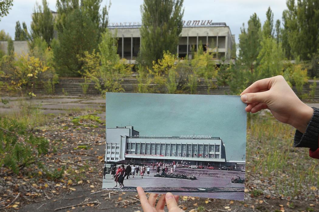 El antes y el después del centro cultural Energetyk