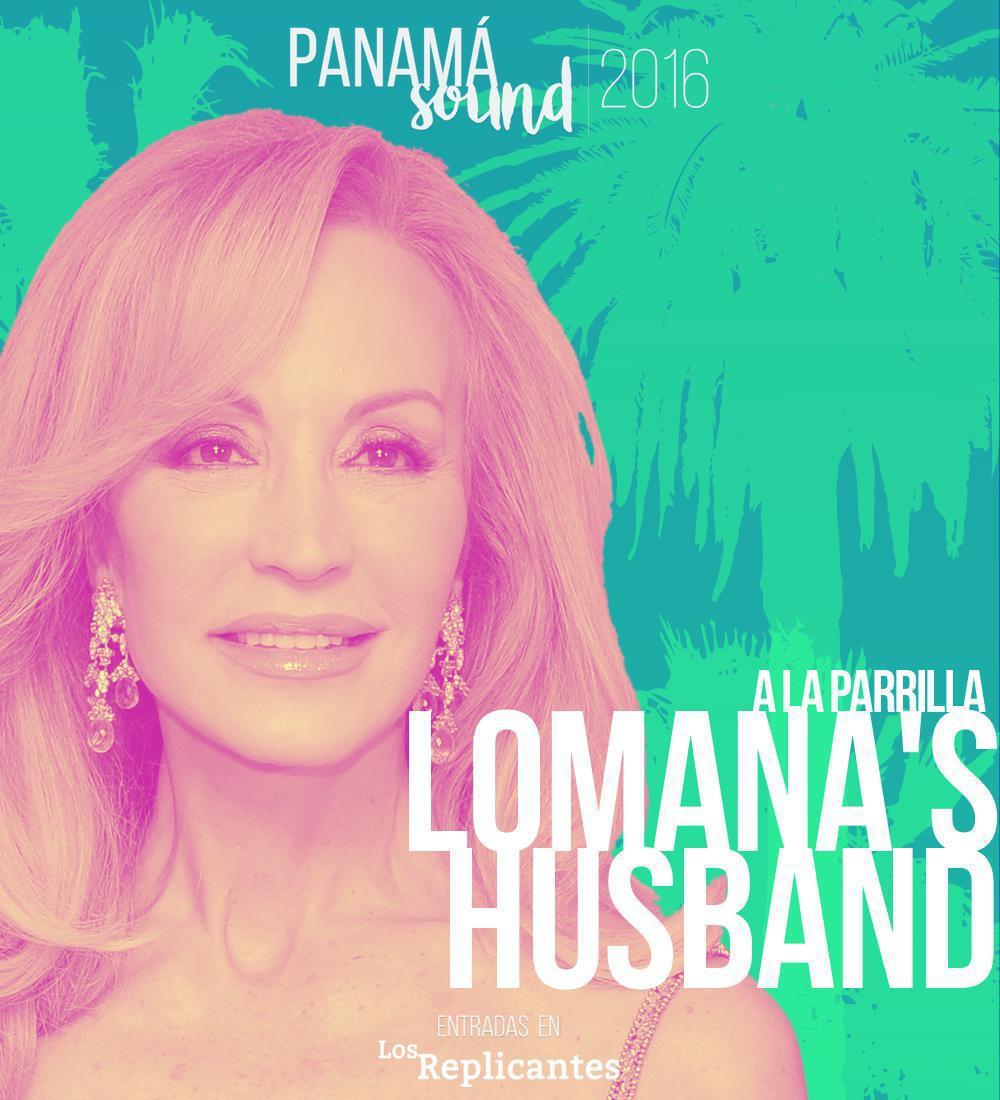 Lomana's Husband, el marido de Carmen Lomana en el Panamá Sound