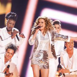 Laura Tesoro, de Bélgica, en Eurovisión 2016