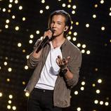 Frans, de Suecia, en la final de Eurovisión 2016