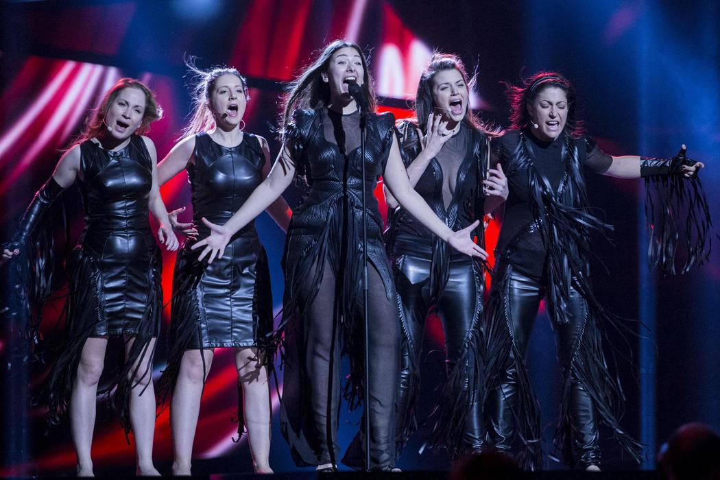 Sanja Vucic ZAA, de Serbia, en Eurovisión 2016