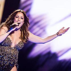Ira Losco, de Malta, en el Festival de Eurovisión 2016