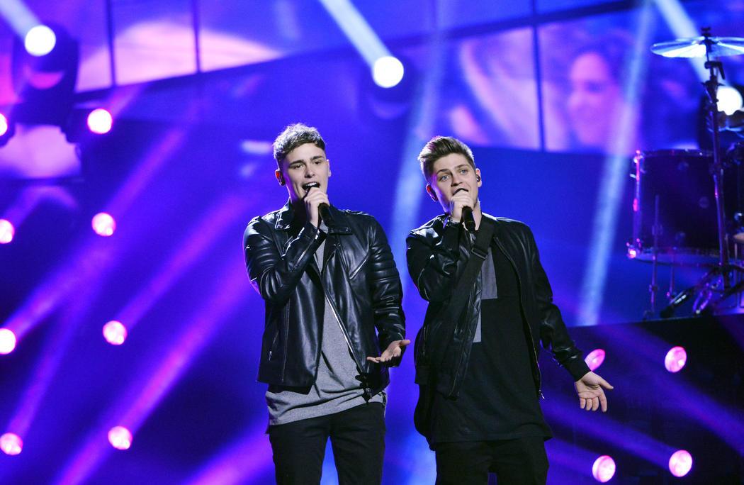 Joe and Jake, representantes del Reino Unido en Eurovisión 2016