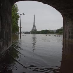 El Sena inunda París