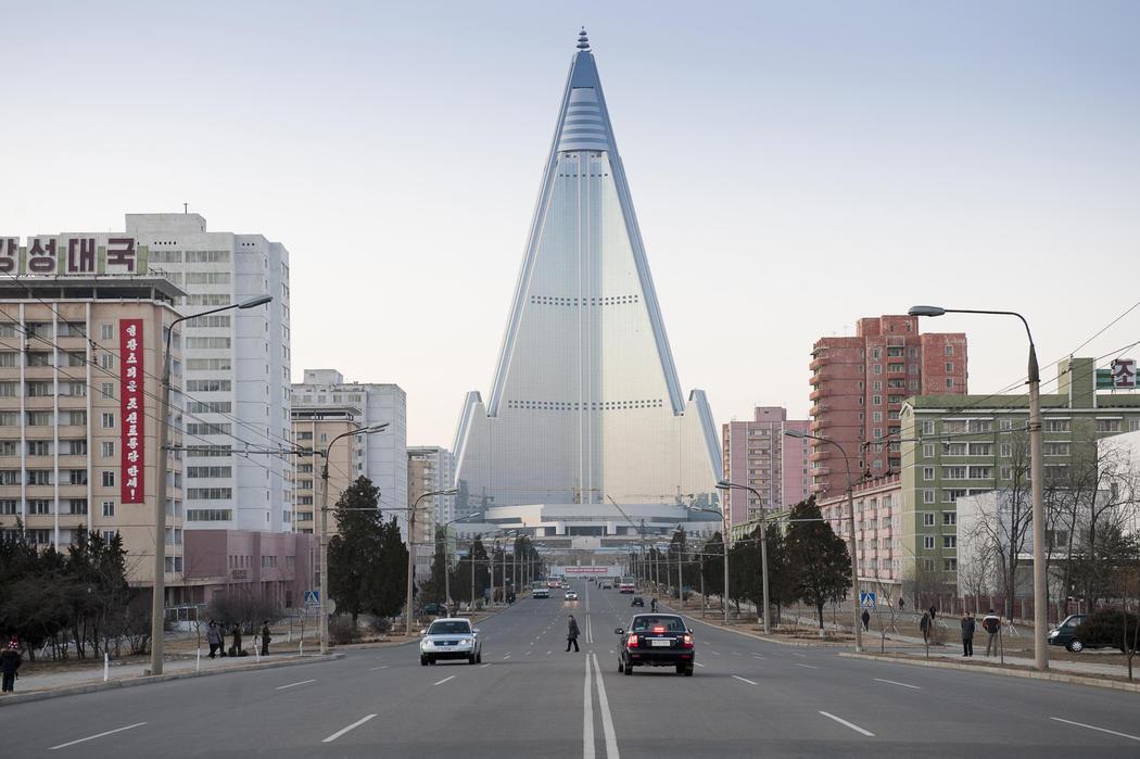 Ryugyong, el hotel fantasma