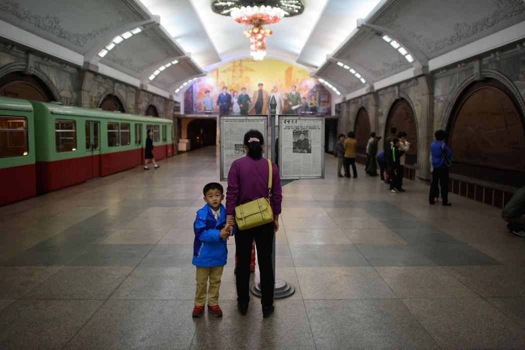 El metro de Pyongyang, un misterio... hasta 2014