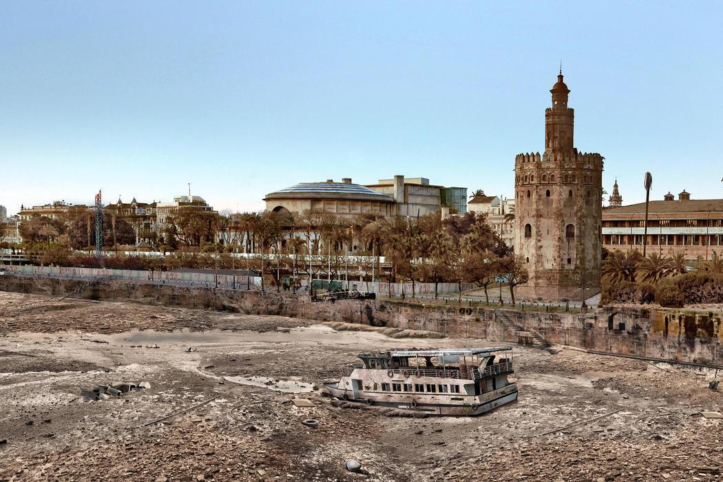 Así sería una Sevilla sin Ártico