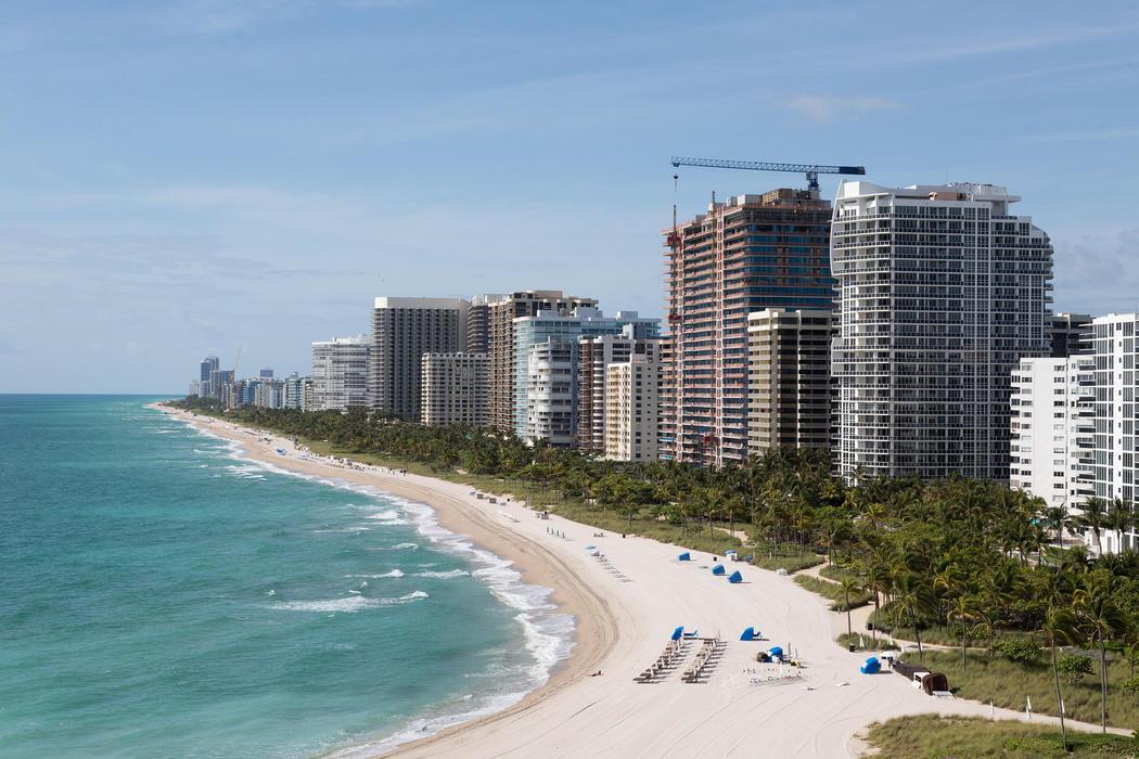 Las grandes playas de Miami