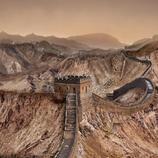 La Gran Muralla China, seca