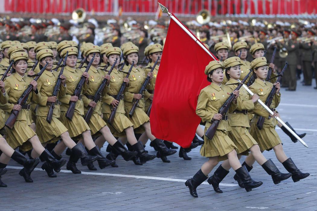 Un ejército de mujeres