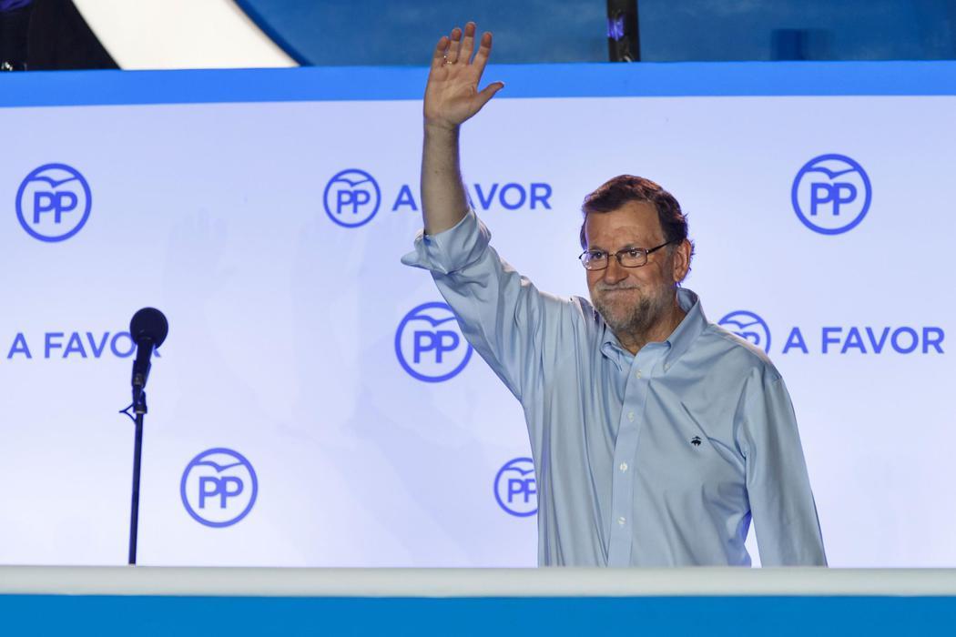 La mejor noche de Rajoy