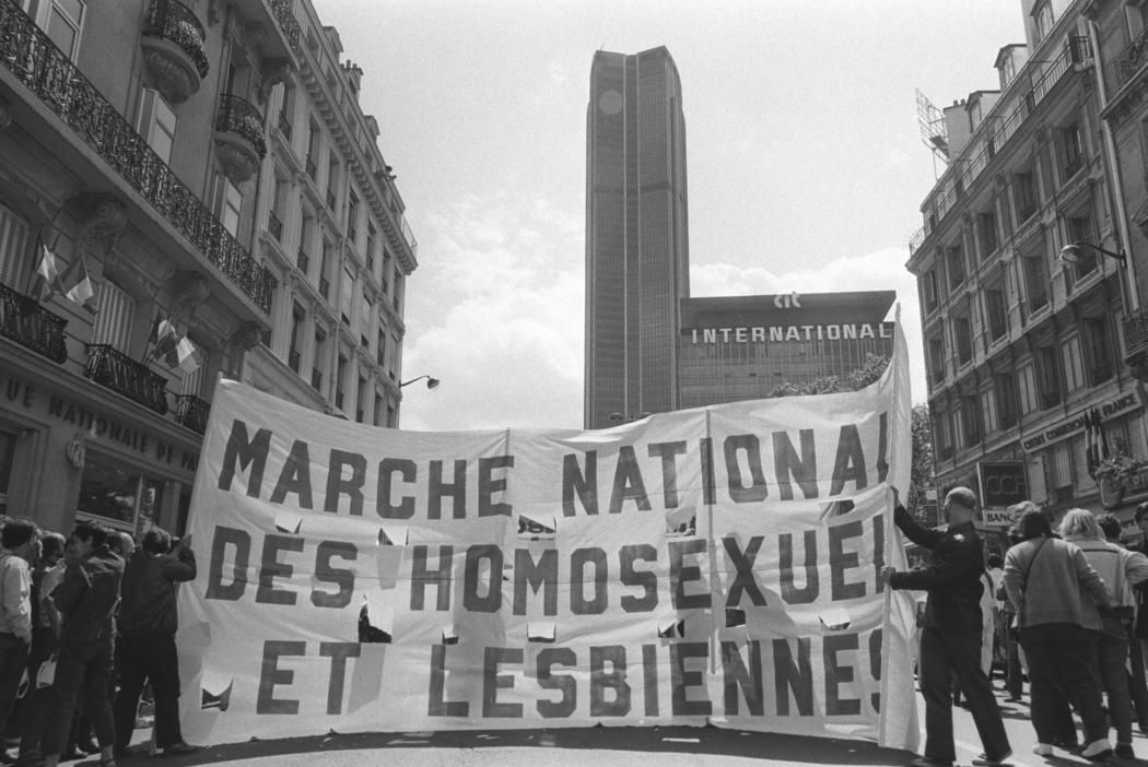 Orgullo LGTB en París en 1982