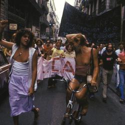 Manifestación en Barcelona de 1978